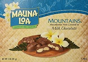 Mauna Loa Mountains Milk Chocolate Covered Macadamia Nuts, 15-Count, 5-Ounce package