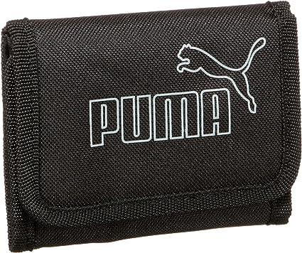 PUMA Foundation Portefeuille, 12 x 9,5 cm, Homme, Noir/Gris ...