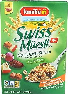 Familia Swiss Muesli No Added Sugar, 32 Ounce