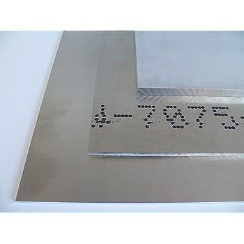 B /& T Plaque m/étal aluminium 20/mm d/épaisseur ALM g4,5mn F 28/ 5083 Plaque Alu Embouti Blank naturel D/écoupage sur mesure