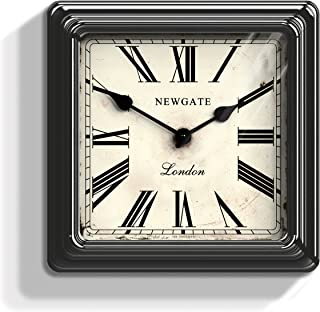 Newgate Croupier's Clock - Black