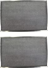 Replacement Aluminum Filters Compatible with Imperial Cal S-2021,G-8592,RHF1007-10-5/16 x 21-1/2 x 1/2 (2-Pack)