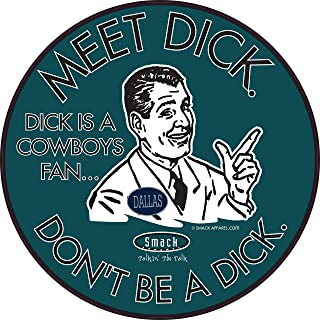 Philadelphia Football. Don`t be a D!ck (Anti-Cowboys). Forest Sticker