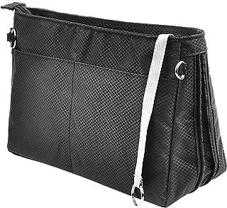 Vercord Expandable Nylon Handbag Purse Organizer Insert Liner Shaper Bag in Bag 3 Size