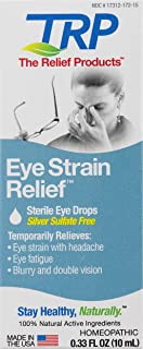The Relief Products Sterile Eye Strain Relief Eye Drops, 0.33 Fl. Oz.