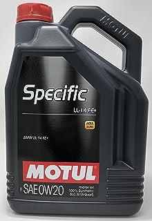 MOTUL 107389 SPECIFIC LL 14 FE+ 0W20