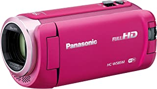 パナソニック HDビデオカメラ W585M 64GB ワイプ撮り 高倍率90倍ズーム ピンク HC-W585M-P
