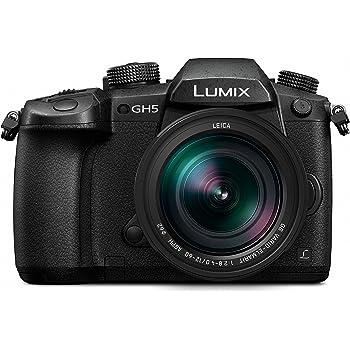 Panasonic Lumix Appareil photo Hybride Pro Vidéo DC-GH5LEF-K +LEICA 12-60 F2.8-4.0 (Capteur 4/3 20MP, Double stab., Viseur OLED, Écran orient. tact,  4K60p/C4K24p/4:2:2 10bit, Noir – Version Française