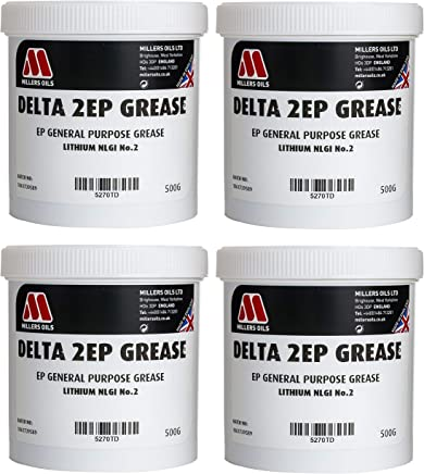 Millers Oils Delta 2EP Grease NLGI No 2 For Wheel Bearings