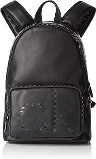 Ck Up Round Backpack, Mochilas Hombre, Negro (Black), 18x42x28 cm (B x H T)
