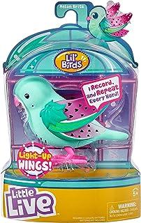 Little Live Pets Małe, żywe zwierzęta domowe świecą ptaki - Melon Brite