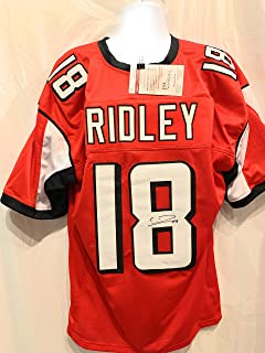 Clavin Ridley Atlanta Falcons Signed Autograph Red Custom Jersey JSA Witnessed Certified