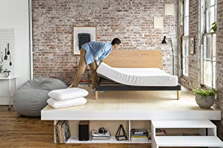 Nod by Tuft & Needle Twin Mattress, Amazon-Exclusive Bed in a Box, Responsive Foam, Sleeps Cooler & More Support Than Memory Foam, More Responsive Than Latex, CertiPUR-US, 10-Year Limited Warranty.