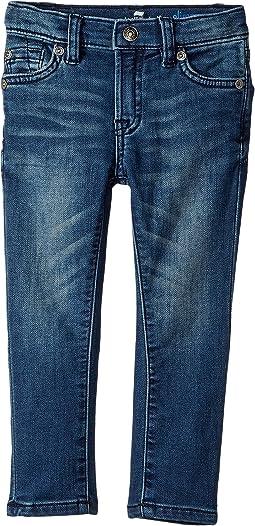 7 For All Mankind Kids - Denim Jeans in Alpha (Toddler)