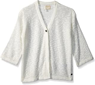 ROXY Girls' Big Livin Sunday Cardigan Sweater