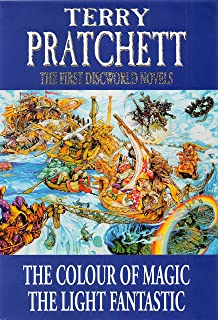 """The First Discworld Novels: The Colour of Magic and The Light Fantastic: """"Colour of Magic"""", """"Light Fantastic"""""""