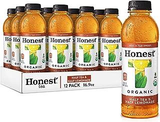 Honest Tea Organic Fair Trade Half Tea & Half Lemonade Gluten Free, 16.9 Fl. Oz, 12 Pack