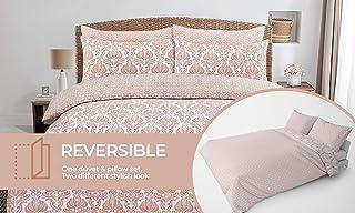AirComfort Ekologiczna oddychająca mieszanka bawełny wiele wzorów zestaw pościeli poszwa na kołdrę z poszewkami na poduszk...