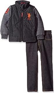 Baby Boys' Fleece Hoodie and Pant Set