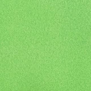 TooMeeCrafts 11 Inches by 8 Inches Glitter Cardstock Bright Green Color,Pack of 10