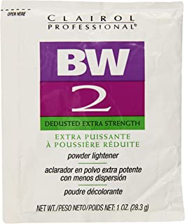 Clairol Professional Basic White 2 Powder Lighteners Hair Color, Pack