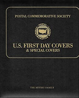 Postal Commemorative Society U.S. First Day Covers & Special Covers Ring-bound The Meyers Family