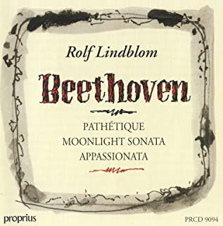Beethoven: Pathetique - Moonlight sonata - Appassionata