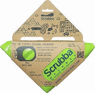 Scrubba Wash Bag' Saco de Lavado, Unisex Adulto, Verde, Talla única