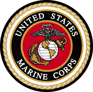 TIRE COVER CENTRAL U.S. Marines Logo Spare Tire Cover for 225/75r15 fits Camper-Jeep-RV-Trailer(Drop Down Size menu