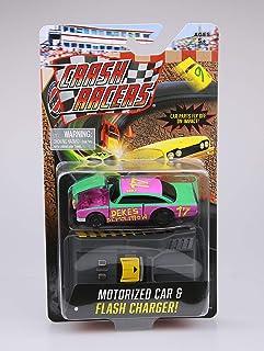 Far Out Toys Crash Racers Vehicle -  Deke's Demolition - Motorized Car