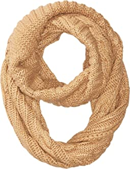 Traveling Cable Neck Ring Scarf