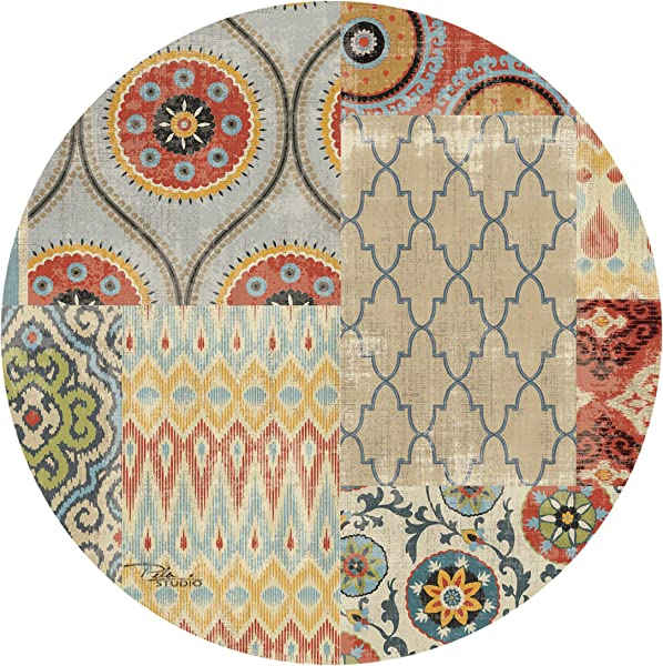 Thirstystone Drink Coaster Set Persian Patchwork