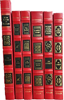 THE JIM CORBETT COLLECTION. Six Volumes. [Complete Set] Limited Edition.CARPET SAHIB: A LIFE OF JIM CORBETT, MY INDIA, THE TEMPLE TIGER: AND MORE MAN-EATERS OF KUMAON, JUNGLE LORE, THE MAN-EATING LEOPARD OF RUDRAPRAYAG, and MAN-EATERS OF KUMAON.