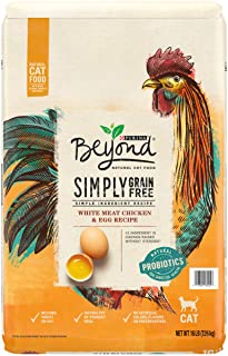 Purina Beyond Grain Free, Natural, Chicken Adult Dry Cat Food & Toppers