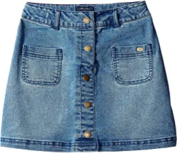 Denim Skirt (Little Kids/Big Kids)
