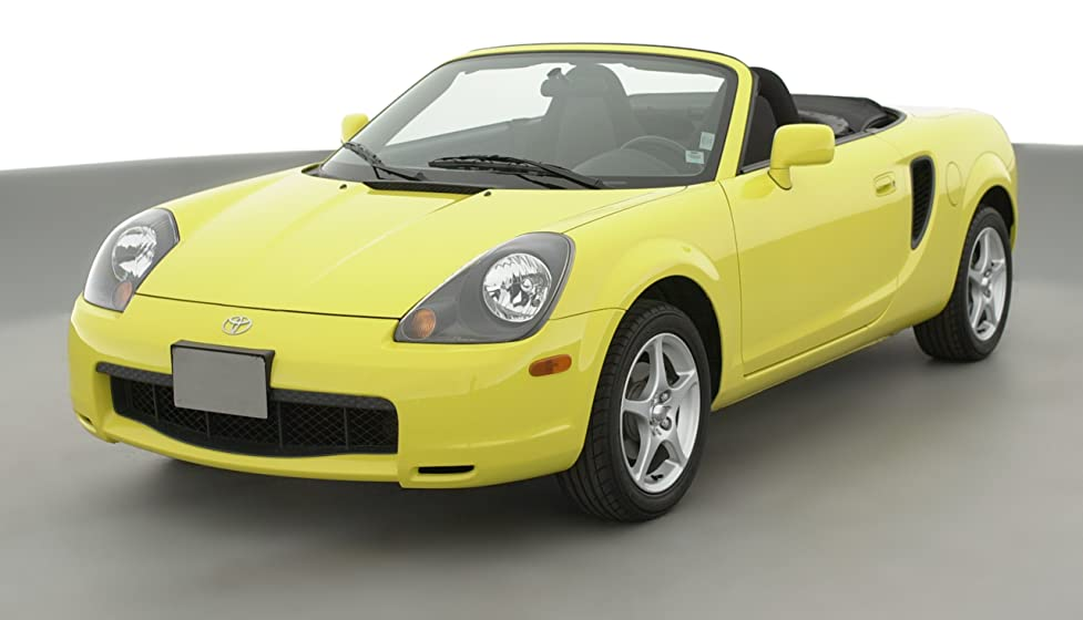 2001 Toyota Mr2 Spyder 2 Door Convertible Manual Transmission Se Electric Green Mica