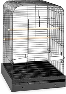 Prevue Hendryx 124BLK Pet Products Madison Bird Cage, Hammertone Black
