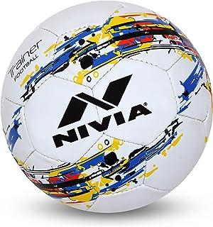 Nivia Trainer Football No. 4 - White,