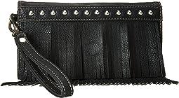 Fringe Wristlet Wallet