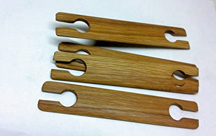 4 Pack 18 inch x 1.5 weaving stick shuttles