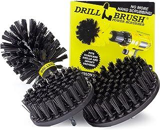 Drillbrush ドリル搭載アタッチメント安全グリルブラシキット・クリーンバーベキューグリルウッドストーブ屋外暖炉