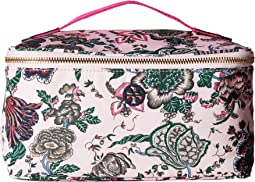 Tilda Printed Nylon Travel Cosmetic Case