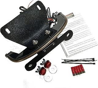 Kawasaki Vulcan S Fender Eliminator Integrated LED Taillight Kit - Brake and Turn Signals - Smoked Lens