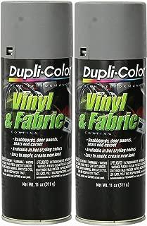 Dupli-Color HVP109 Medium Gray High Performance Vinyl and Fabric Spray - 11 oz. … (2 PACK)