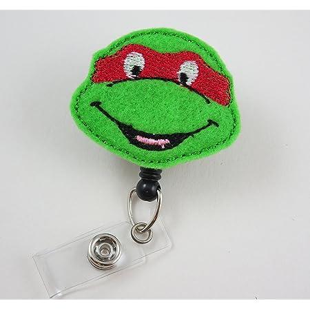 Water Turtle ID Badge Clip Badge Holder Retractable Badge Reel Feltie Badge Reel RN Badge Mysweetbadge Badge Nurse