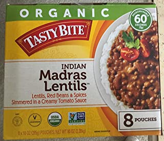 Tasty Bite ORGANIC Tasty Bite Indian Madras Lentils (8 x 10 oz Pouches)