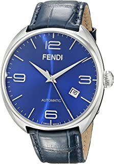 Men's F200013031 Fendimatic Stainless Steel Automatic Watch With Blue Leather Band