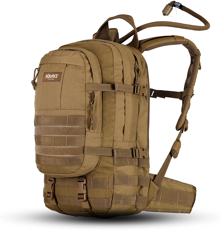 Source Tactical depot Assault 20L Hydration Nashville-Davidson Mall Backpack Includes WLP 3L -