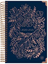 "HARDCOVER bloom daily planners 2020-2021 Academic Year Day Planner Calendar (July 2020 - July 2021) - 6"" x 8.25"" - Passion..."