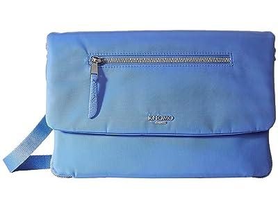 KNOMO London Mayfair Elektronista Digital Clutch Bag (Cornflower Blue) Clutch Handbags